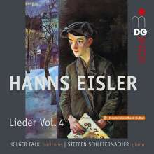 Hanns Eisler (1898-1962): Lieder Vol.4, CD