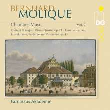Wilhelm Bernhard Molique (1802-1869): Kammermusik Vol.2, CD