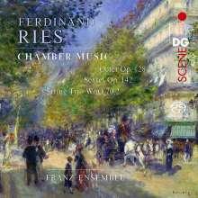 Ferdinand Ries (1784-1838): Oktett op.128 für Klavier,Streicher & Bläser, Super Audio CD