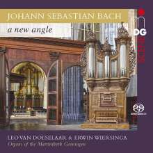 "Johann Sebastian Bach (1685-1750): Orgelwerke ""A New Angle"", SACD"