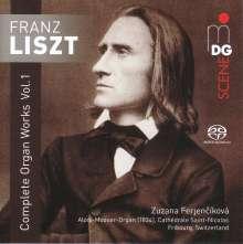 Franz Liszt (1811-1886): Sämtliche Orgelwerke Vol.1, Super Audio CD