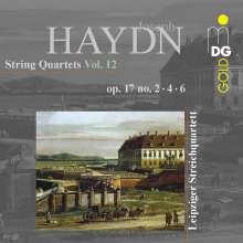 Joseph Haydn (1732-1809): Streichquartette Vol.12, CD