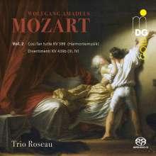 Wolfgang Amadeus Mozart (1756-1791): Divertimenti KV 439b Nr.3 & 4, Super Audio CD