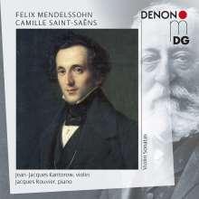 Felix Mendelssohn Bartholdy (1809-1847): Sonaten f.Violine & Klavier Nr.1-3, 2 CDs