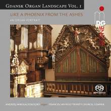 """Gdansk Organ Landscape Vol.1 - """"Like a Phoenix from the Ashes"""", Super Audio CD"""