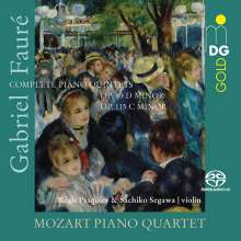 Gabriel Faure (1845-1924): Klavierquintette opp.89 & 115, Super Audio CD