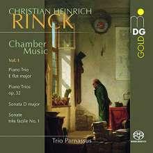 Johann Christian Heinrich Rinck (1770-1846): Kammermusik Vol.1, Super Audio CD