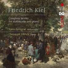 Friedrich Kiel (1821-1885): Sämtliche Werke für Cello & Klavier, 2 CDs