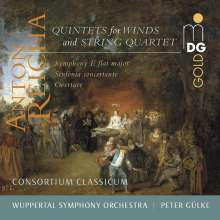 Anton Reicha (1770-1836): Quintette für Bläser, 4 CDs