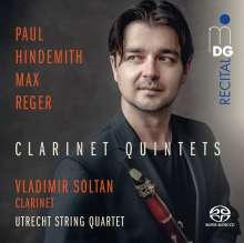 Max Reger (1873-1916): Klarinettenquintett op.146, Super Audio CD