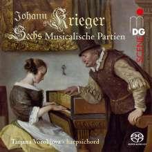 Johann Krieger (1651-1735): Sechs Musicalische Partien, Super Audio CD