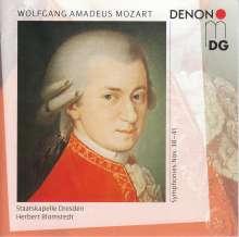 Wolfgang Amadeus Mozart (1756-1791): Symphonien Nr.38-41, 2 CDs