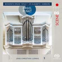 "Jens-Christian Ludwig - Orgelpunkt (Beckerath-Orgel ""Opus 1"", Sankt Elisabeth in Hamburg), Super Audio CD"
