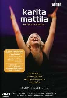 Karita Mattila - Helsinki Recital, 2 DVDs