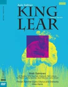 Aulis Sallinen (geb. 1935): King Lear, DVD