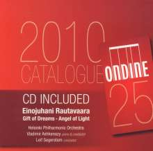 "Einojuhani Rautavaara (1928-2016): Symphonie Nr.7 ""Angel of Light"", CD"