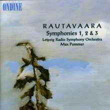 Einojuhani Rautavaara (1928-2016): Symphonien Nr.1-3, CD