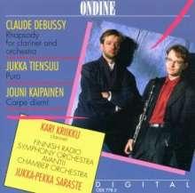Jukka Tiensuu (geb. 1948): Puro für Klarinette & Orchester, CD