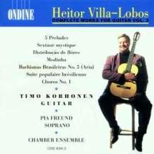 Heitor Villa-Lobos (1887-1959): Suite populaire bresiliennes f.Gitarre, CD