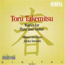 Toru Takemitsu (1930-1996): Werke für Flöte & Gitarre, CD