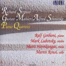 Richard Strauss (1864-1949): Klavierquartett op.13, CD