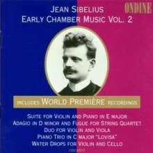 Jean Sibelius (1865-1957): Klaviertrio in C, CD