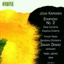 Jouni Kaipainen (1956-2015): Symphonie Nr.2, CD