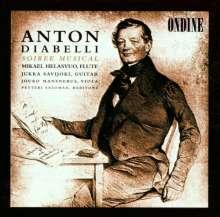 Anton Diabelli (1781-1858): Gesänge für Herz & Gefühl op.101, CD