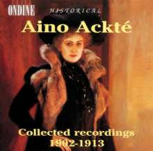 Aino Ackte - Collected Recordings 1902-13, CD