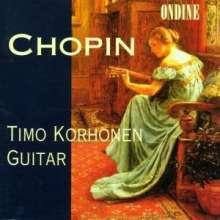 Timo Korhonen: Chopin Transcript für Gitarre, CD