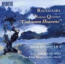 Einojuhani Rautavaara (1928-2016): Streichquartette Nr.1 & 2, CD