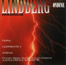 Magnus Lindberg (geb. 1958): Feria, CD