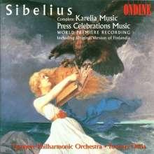 Jean Sibelius (1865-1957): Musik zu den Pressefeiern, CD