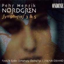 Pehr Henrik Nordgren (1944-2008): Symphonien Nr.3 & 5 (opp.88 & 103), CD