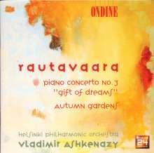 "Einojuhani Rautavaara (1928-2016): Klavierkonzert Nr.3 ""Gift of Dreams"", CD"