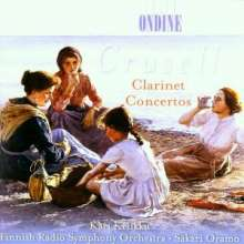 Bernhard Crusell (1775-1838): Klarinettenkonzerte Nr.1-3 (opp.1,5,11), CD