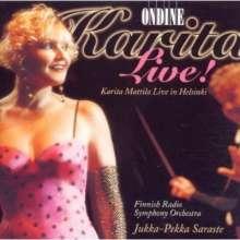 Karita Mattila - Live!, CD