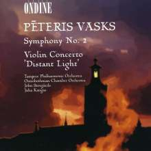 Peteris Vasks (geb. 1946): Symphonie Nr.2, CD