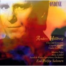 "Anders Hillborg (geb. 1954): Klarinettenkonzert ""Peacock Tales"", CD"