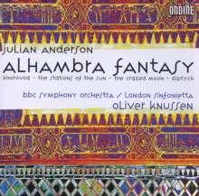 Julian Anderson (geb. 1967): Alhambra Fantasy, CD
