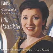 Alma Mahler-Werfel (1879-1964): Orchesterlieder, CD