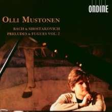 Olli Mustonen spielt Bach & Schostakowitsch Vol.2, 2 CDs
