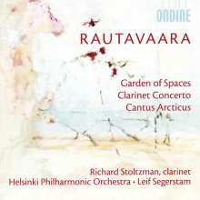 Einojuhani Rautavaara (1928-2016): Klarinettenkonzert, CD