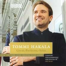 Tommi Hakala - Great Baritone Arias, CD