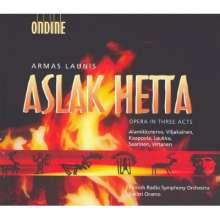 Armas Launis (1884-1959): Aslak Hetta, 2 CDs
