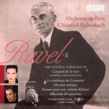 Maurice Ravel (1875-1937): Gaspard de la Nuit (Orchesterfassung), CD