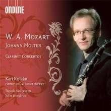 Johann Melchior Molter (1696-1765): Klarinettenkonzerte Nr.1,3,4, CD