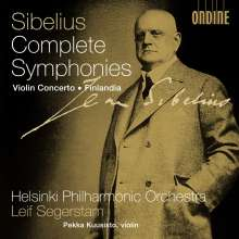 Jean Sibelius (1865-1957): Symphonien Nr.1-7, 4 CDs