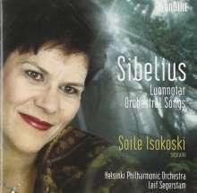 Jean Sibelius (1865-1957): Orchesterlieder, Super Audio CD