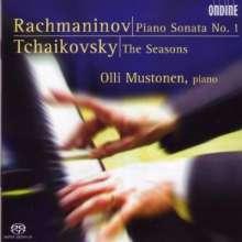 Sergej Rachmaninoff (1873-1943): Klaviersonate Nr.1 op.28, SACD